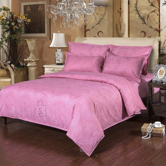 Voodipesukomplekt Pink Arabesque