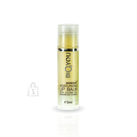 Bio2you Niisutav huulepalsam sheavõi, mesilasvaha ja E-vitamiiniga