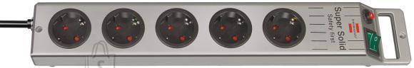 Brennenstuhl Pikendusjuhe Super-Solid liigpinge- ja piksekaitsega.