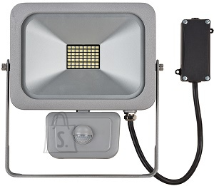 Brennenstuhl LED prozektor 30W SMD SLIM IP54 hõbe+PIR