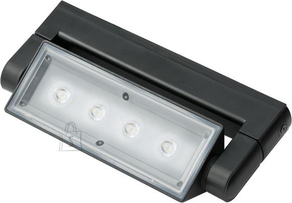 Brennenstuhl valgusti seinale 4*3W LED IP54 830Lm, must