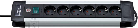 Brennenstuhl pikendusjuhe 3G1,5 6p+L 3m Premium-Alu-Line