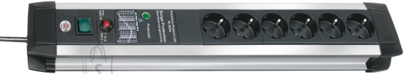 Brennenstuhl pikendusjuhe+ PIKSEKAITSE 3G1,5 6p+3m Premium-Protect-Line