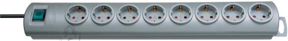 Brennenstuhl pikendusjuhe 3G1,5 8p +L2m hõbe Primera-Line