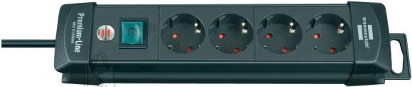Brennenstuhl pikendusjuhe 3G1,5 4p+L 1,8m must Premium-Line