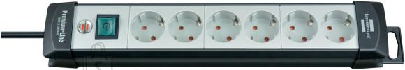 Brennenstuhl pikendusjuhe 3G1,5 6p+L 5m Premium-Line