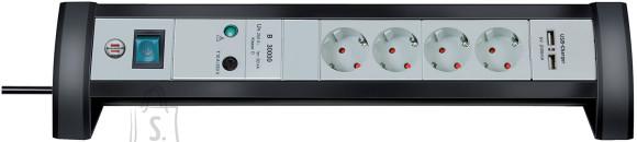 Brennenstuhl pikendusjuhe + PIKSEKAITSE 3G1,5 4p+2xUSB+L1,8m Premium-Office-Line
