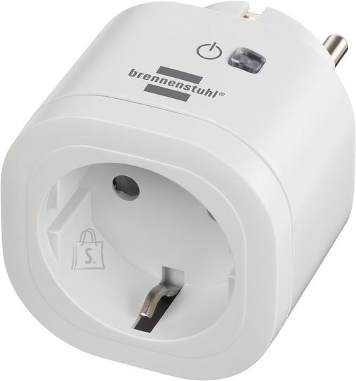 Brennenstuhl WiFi pistikupesa 433MHz 3000W valge IP20