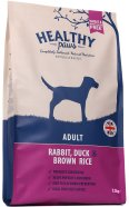 Healthy Paws koeratoit Jäneseliha, Pardiliha & Pruuni Riisiga 12kg