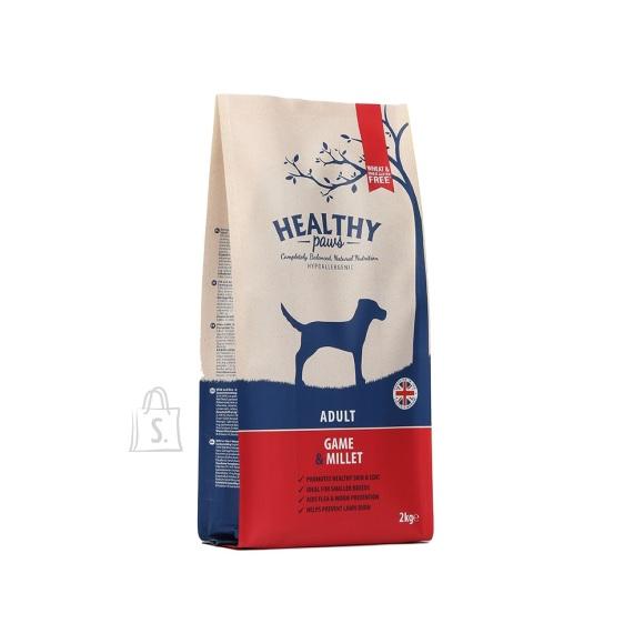 Healthy Paws Ulukiliha & Hirsiga 2kg