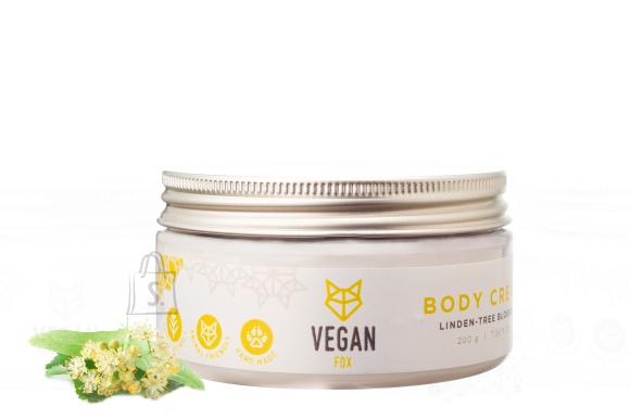 Vegan Fox Vegan Fox, Pärnaõie kehakreem, 200g