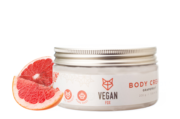 Vegan Fox Vegan Fox, Greibi kehakreem, 200g