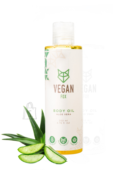 Vegan Fox Vegan Fox, Aaloe kehaõli, 200ml
