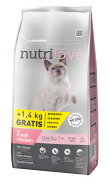 Nutrilove cat dry STERILE fresh chicken 7kg+1,4kg