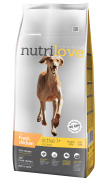 Nutrilove dog dry ACTIVE  fresh chicken 12kg