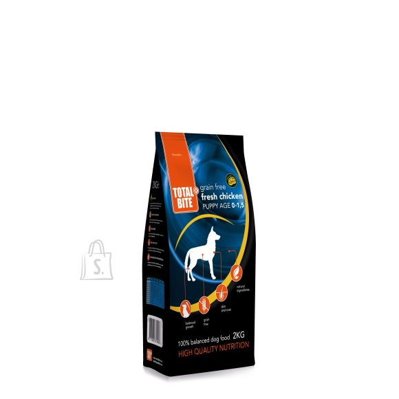 TOTAL BITE PUPPY GRAINFREE FRESH CHICKEN 10kg