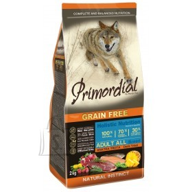 Primordial Grain Free Adult Trout& Duck 12kg