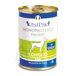Monoproteico konserv koerale hautatud jäneselihaga 6x400g