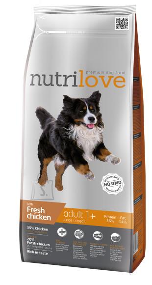 Nutrilove adult L suurtele koeratõigudele 3kg