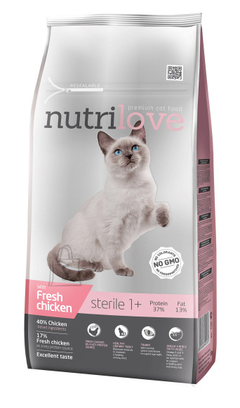 Nutrilove cat dry STERILE fresh chicken 7kg