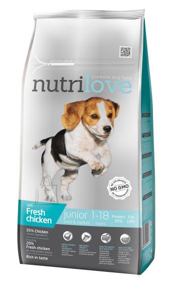 Nutrilove dog dry JUNIOR S&M  fresh chicken 8 kg