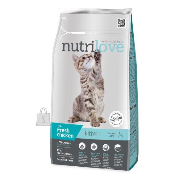 Nutrilove kassitoit kitten 1,4kg