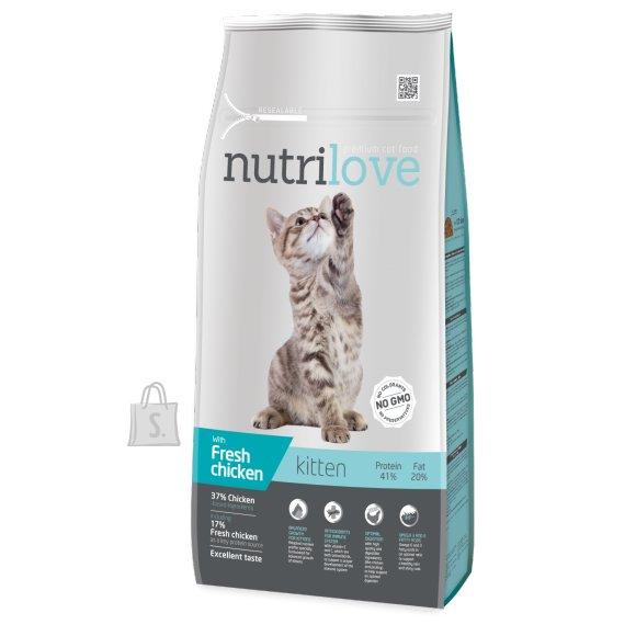 Nutrilove kassitoit kitten 8 kg