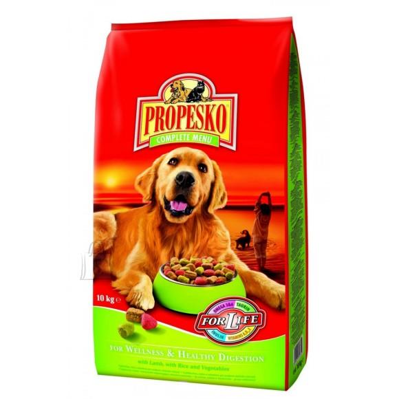 Propesko Wellness & Healthy Digestion koeratoit lambaliha, riisi ja juurviljadega 10kg