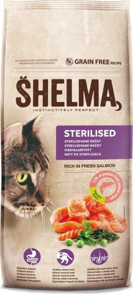 Shelma steril.kassidele värske lõhega,tervaviljavaba 8kg