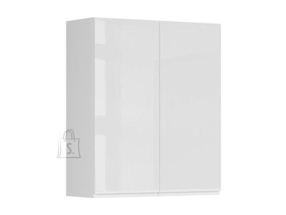 Ülemine köögikapp kahe uksega Oslo 80x95 cm hall