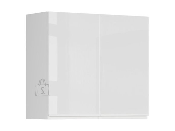 Ülemine köögikapp kahe uksega Oslo 80x72 cm hall