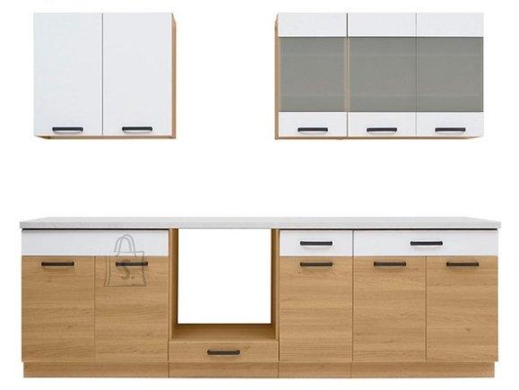 Nordic Köögikomplekt Niva II 260 cm tamm/valge