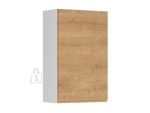 Nordic Ülemine köögikapp uksega Bergen 60x95 cm vasak tamm