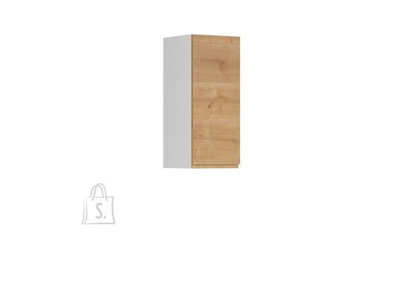 Nordic Ülemine köögikapp uksega Bergen 30x72 vasak tamm
