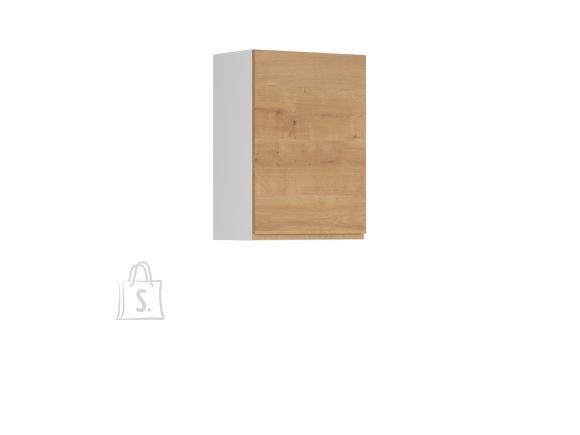 Nordic Ülemine köögikapp uksega Bergen 50x72 parem tamm