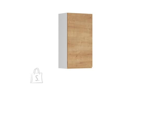 Nordic Ülemine köögikapp uksega Bergen 50x95 vasak tamm