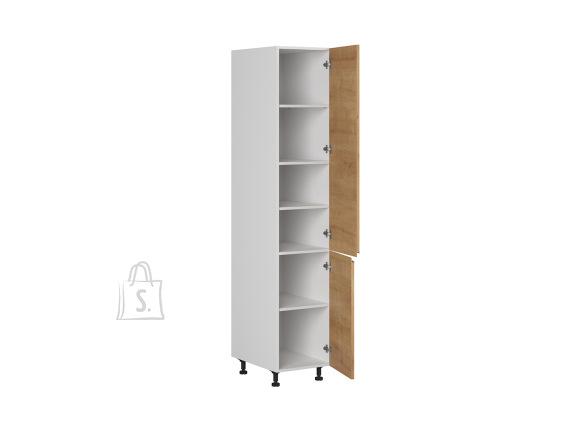 Nordic Kõrge köögikapp 2 ukse ja 5 vaheriiuliga Bergen 40x207 cm parem tamm