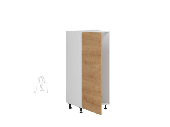 Nordic Integreeritava külmiku kapp Bergen 60x143 cm vasak tamm