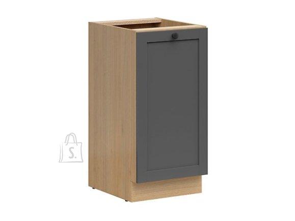Nordic Alumine köögikapp uksega Lund 40x82 cm grafiit