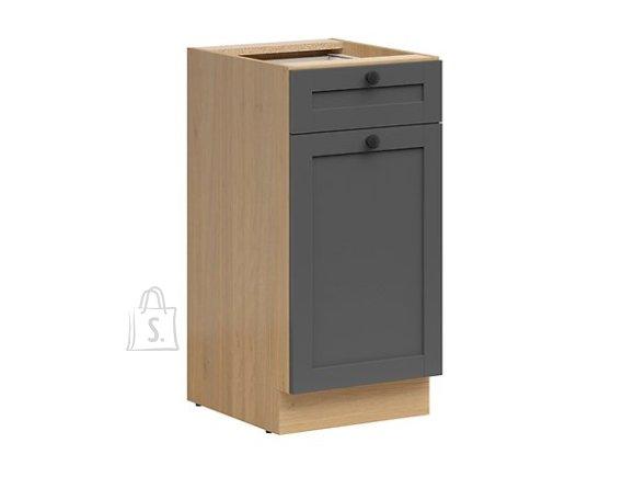 Nordic Alumine köögikapp sahtli ja uksega Lund 40x82 cm grafiit