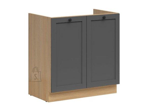 Nordic Köögi valamukapp 2 uksega Lund 80x82 cm grafiit