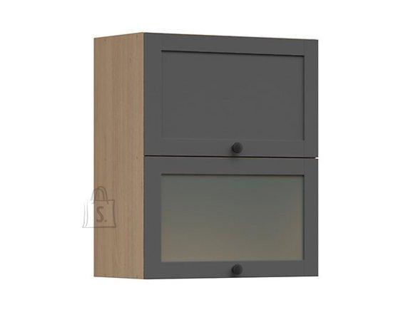 Nordic Ülemine köögikapp 2 uksega Lund 60x72 grafiit
