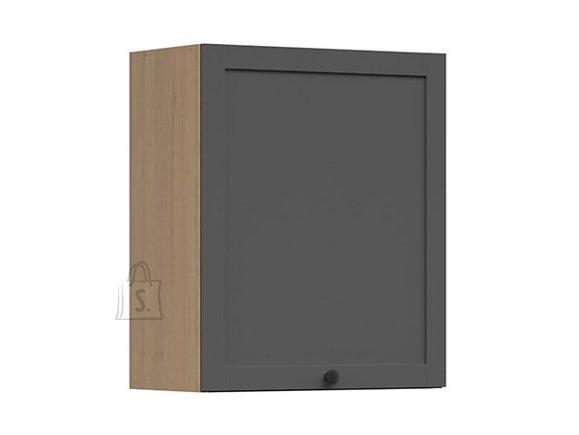 Nordic Ülemine nõudekapp 1 uksega Lund 60x72 grafiit