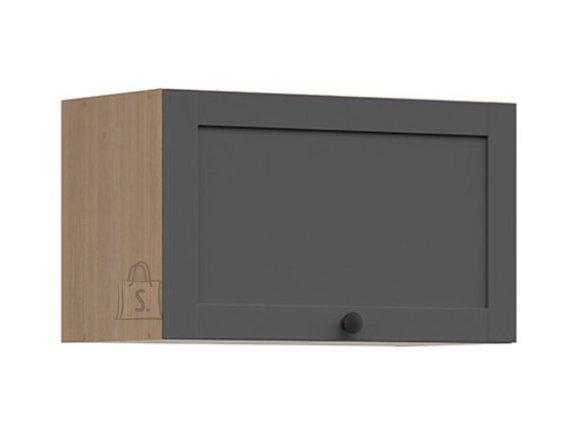 Nordic Ülemine köögikapp üles avaneva uksega Lund 60x36 parem grafiit