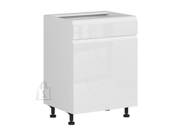 Nordic Alumine köögikapp ukse ja sahtliga 60x82 vasak hall