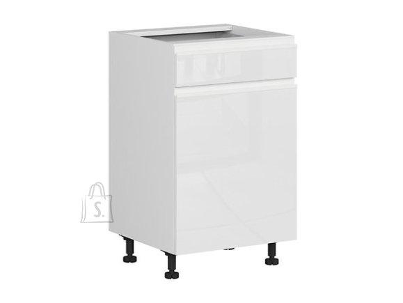 Nordic Alumine köögikapp ukse ja sahtliga 50x82 cm vasak