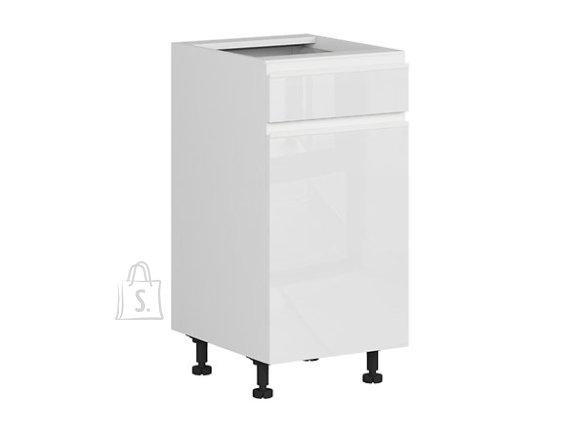 Nordic Alumine köögikapp ukse ja sahtliga 40x82 cm vasak