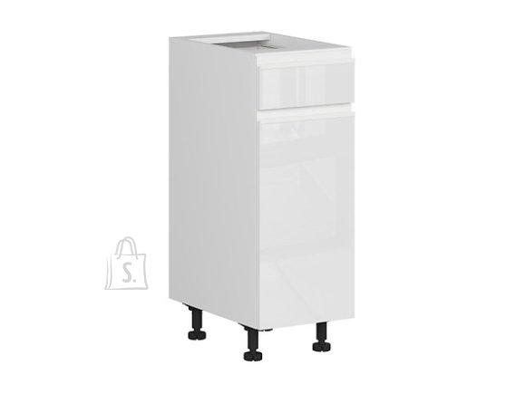 Nordic Alumine köögikapp ukse ja sahtliga 30x82 cm vasak