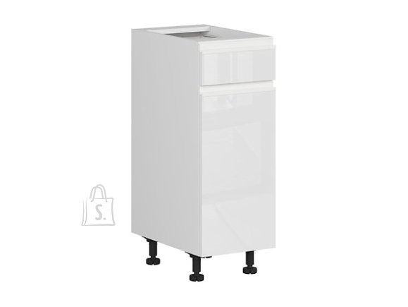 Nordic Alumine köögikapp ukse ja sahtliga 30x82 cm parem