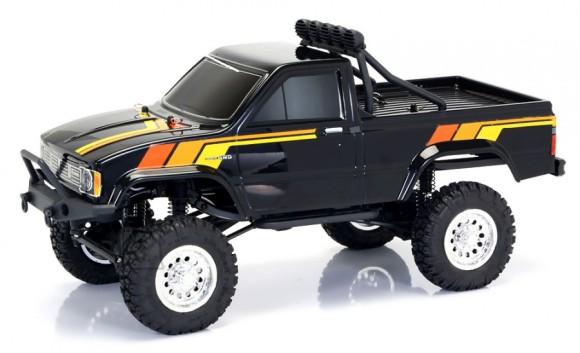 Raadioteel juhitav auto Thunder Tiger Toyota Hilux 4WD 1:12, 37cm